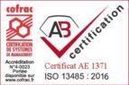 Logo ISO 13485 2016